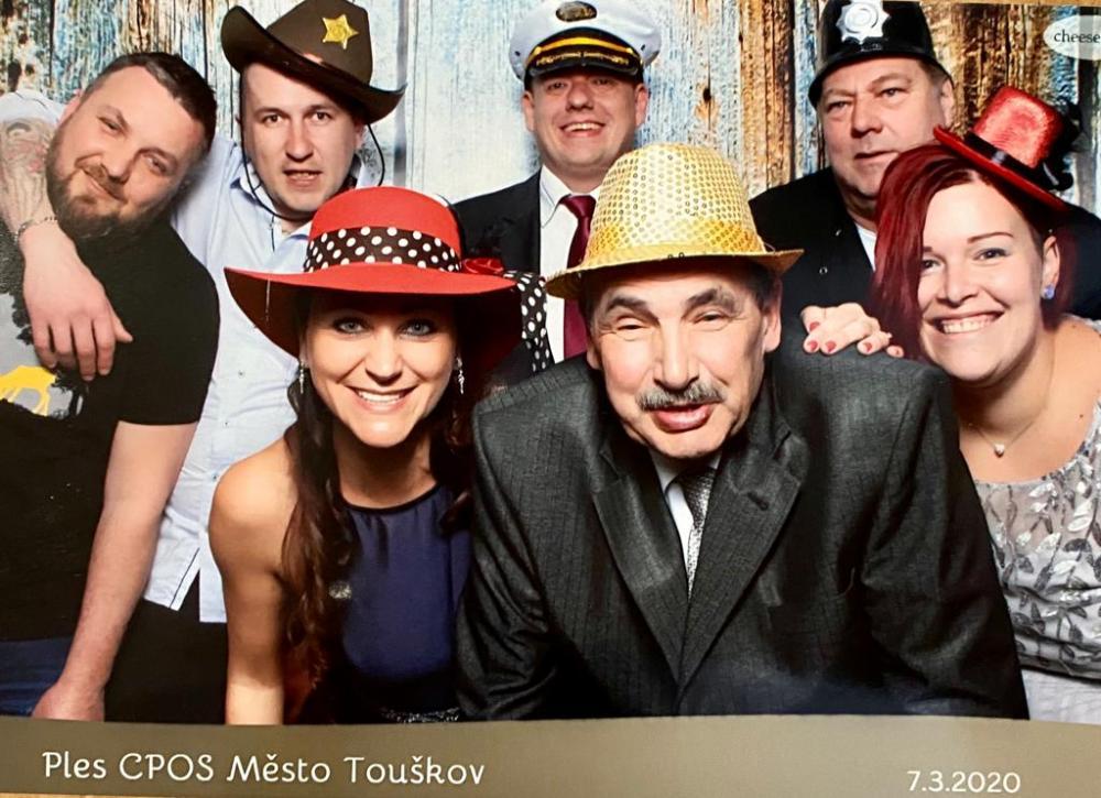 Ples CPOS Město Touškov 7.3.
