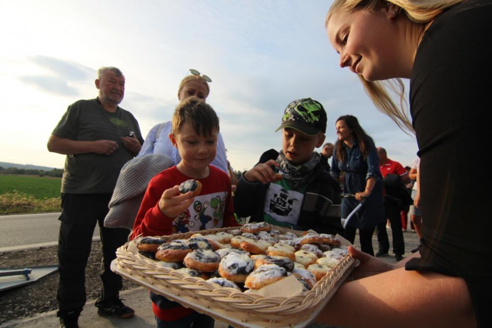 Otevření nové cyklostezky Kozolupy - Město Touškov 23.9.