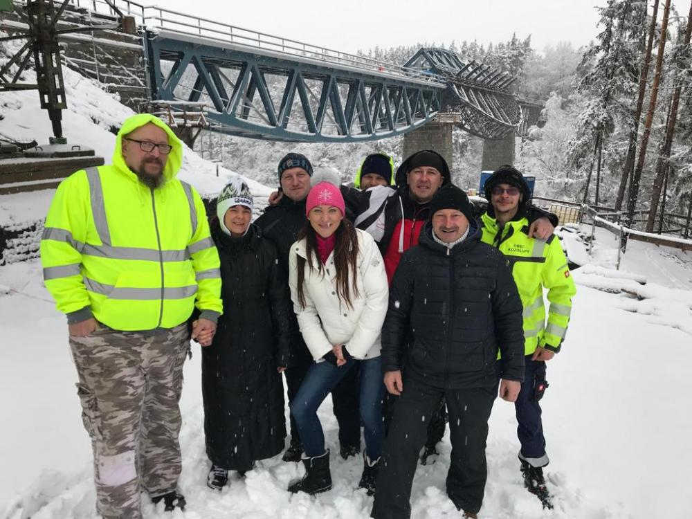 Oprava Pňovanského mostu 4.12.