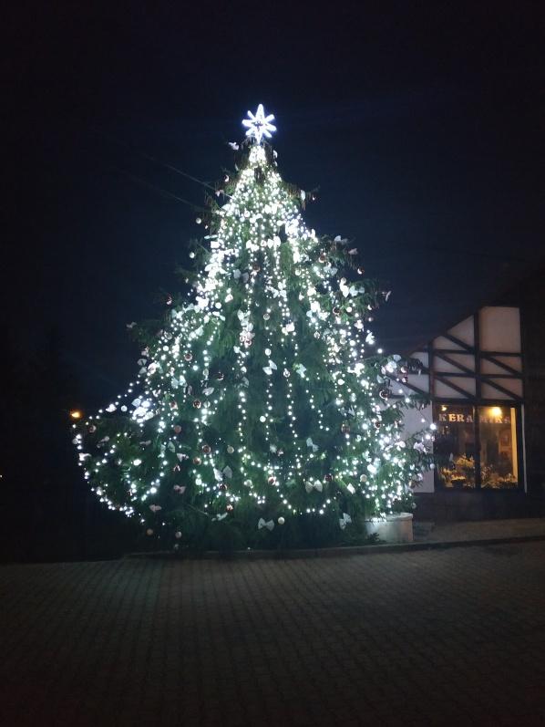 Rozsvícení vánočního stromečku 29.11.