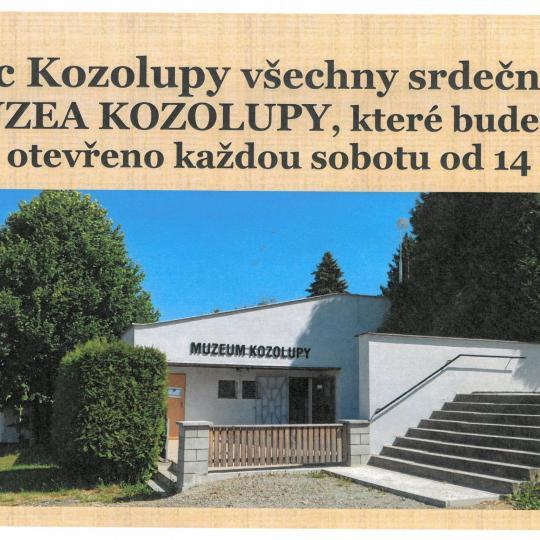 Muzeum Kozolupy 1