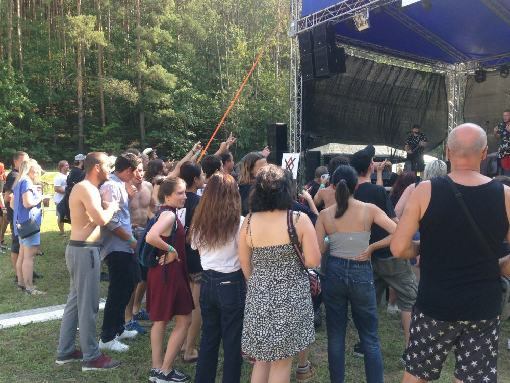 Festivalová louka